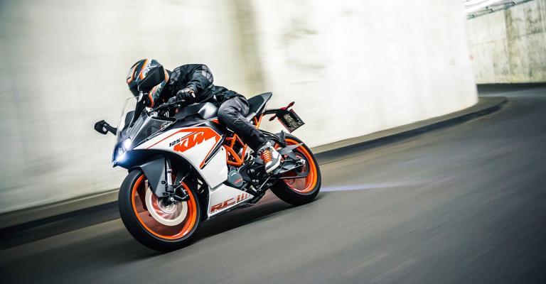 Nuova KTM RC 125 2017